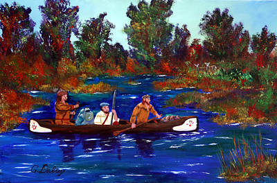 Painting - Heading For Rendezvous by Gail Daley