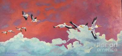 Sandra Williams Painting - Heading Home by Sandra Williams