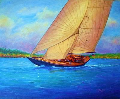 Heading Out Keehi Lagoon Art Print by Joseph   Ruff