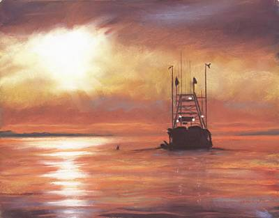 Heading Out Art Print by Sharon Morley  APS
