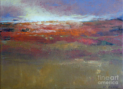 Heading West 6 Art Print by Melody Cleary