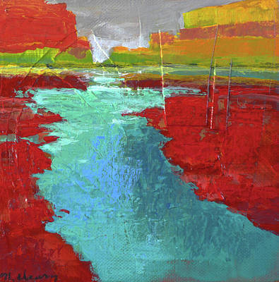 Painting - Heading West No. 3 by Melody Cleary