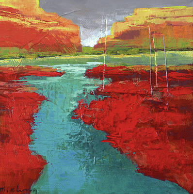 Painting - Heading West No. 4 by Melody Cleary