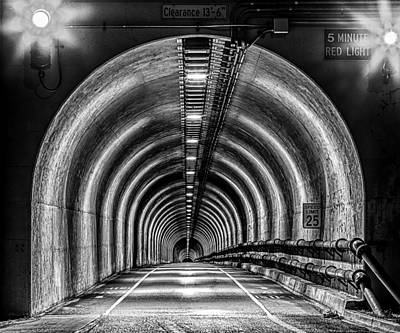 Photograph - Headlands Tunnel by PhotoWorks By Don Hoekwater
