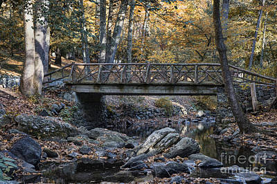 Headless Horseman Bridge Art Print by John Greim