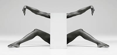 Crane Wall Art - Photograph - Headless Symmetry by Ross Oscar