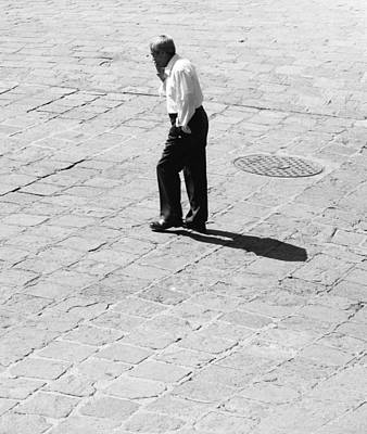 Manhole Photograph - Headless Travels  by Empty Wall