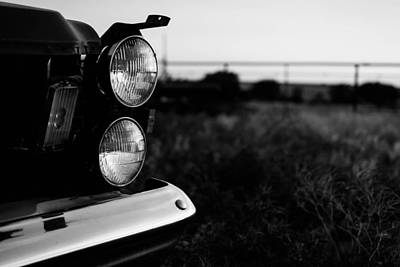 Photograph - Headlight by Nathan Hillis