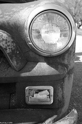 Photograph - Headlight Of The Past by Nick Kirby