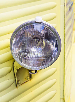 Headlight Photograph - Headlight by Tom Gowanlock
