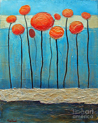 Painting - Heads Up by Phyllis Howard