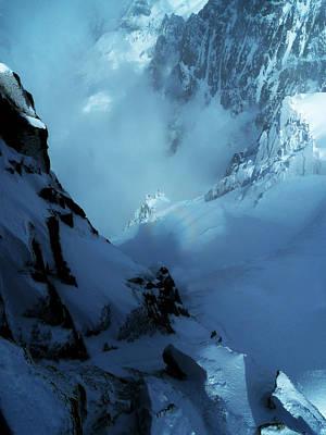 Photograph - Headwall Mount Blanc by Frank Wilson