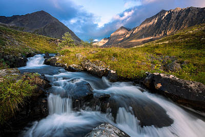 Photograph - Headwaters At Dusk by Tim Newton