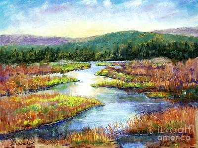 Headwaters Of Blackwater Art Print by Bruce Schrader