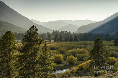 Headwaters Of The Big Lost River Art Print