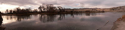 Gallatin River Photograph - Headwaters Of The Missouri River by David Bearden
