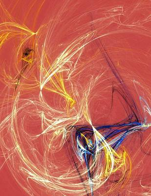 Digital Art - Headwires by Mike Turner