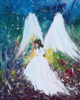 Painting - Healing Angel 2 by Kume Bryant