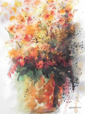 Healing Art Print by Chrisann Ellis