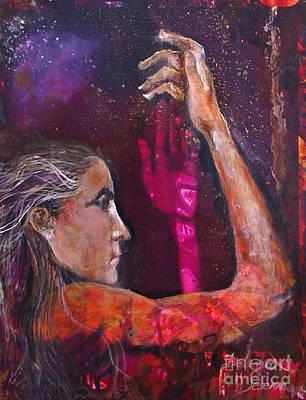 Healing  Art Print by Delona Seserman