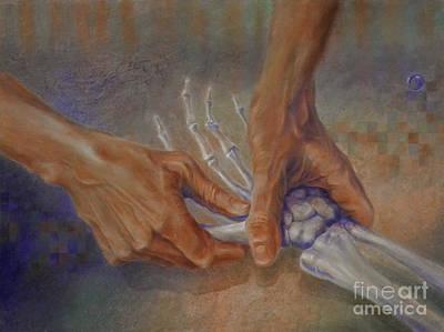 Painting - Healing Hands by Carol McIntyre