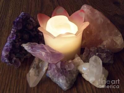 Photograph - Healing Stones by Bobbee Rickard