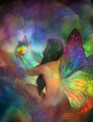 Transformation Mixed Media - Healing Transformation by Carol Cavalaris