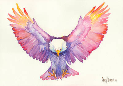 Prophetic Art Wall Art - Painting - Healing Wings by Cindy Elsharouni