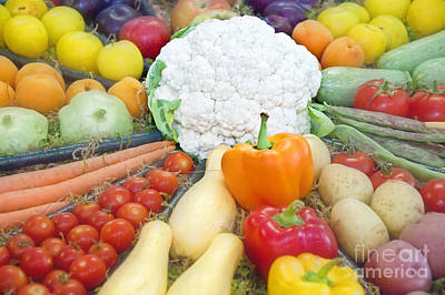 Photograph - Healthy Vegetables Art Prints by Valerie Garner