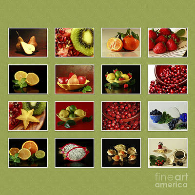 Healthy International Fruits Collection Print by Inspired Nature Photography Fine Art Photography