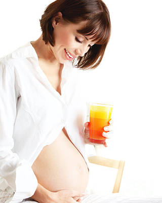 Caring Mother Photograph - Healthy Pregnant Lady by Anna Om