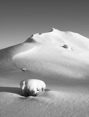 Photograph - Heap Of Snow by Arkady Kunysz