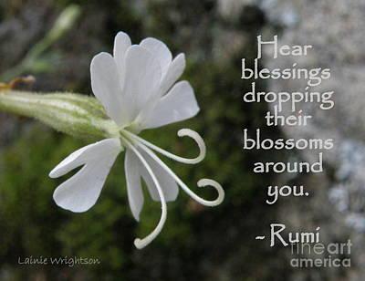 Hear Blessings Art Print