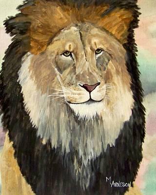 Wall Art - Painting - Hear Me Roar by Mary Arneson