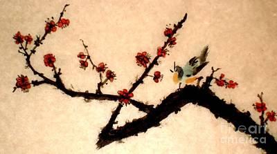 Painting - Hear Me Sing... by Katy Mei