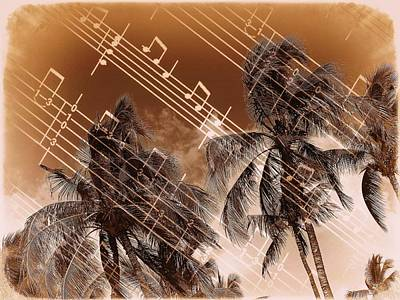 Hear The Music Art Print by Athala Carole Bruckner