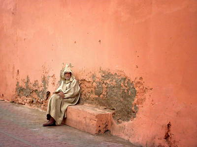 Berber Man Photograph - Heard You're New In Town I'll Show You Round.. by A Rey