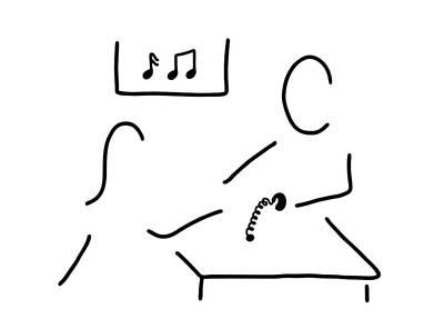 Hearing Art Print by Lineamentum