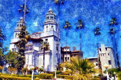 Digital Art - Hearst Castle Close Up by Kaylee Mason
