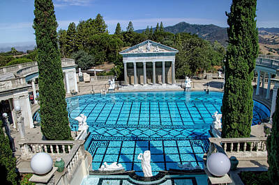 Hearst Castle Pool - California Art Print by Jon Berghoff