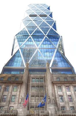 Photograph - Hearst Tower - Manhattan - New York City by Marianna Mills