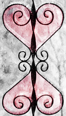 Photograph - Heart 2 Heart by Andee Design