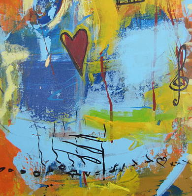 Unity Painting - Heart 3 by Francine Ethier