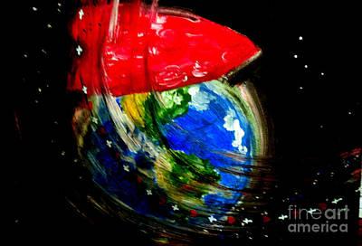 Painting - Heart by Amanda Dinan