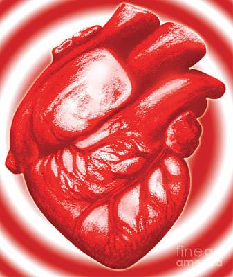 Pump Organ Photograph - Heart Attack by Dennis Potokar