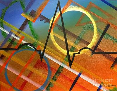Painting - Heart Beat by Ken Frischkorn