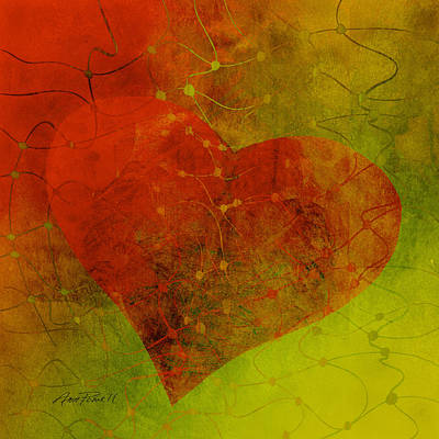 Digital Art - Heart Connections Three by Ann Powell