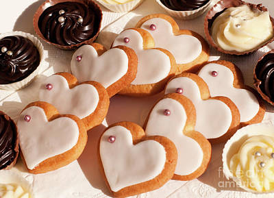 Photograph - Heart Cookies by Rick Piper Photography