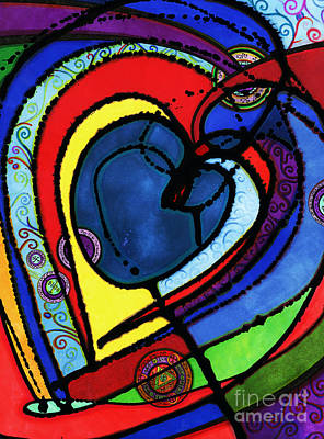 Drawing - Heart II  by Joey Gonzalez