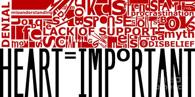 Heart Important Art Print